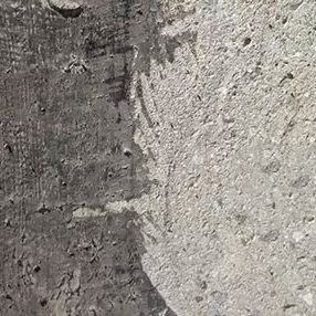 Concrete preparation before and after